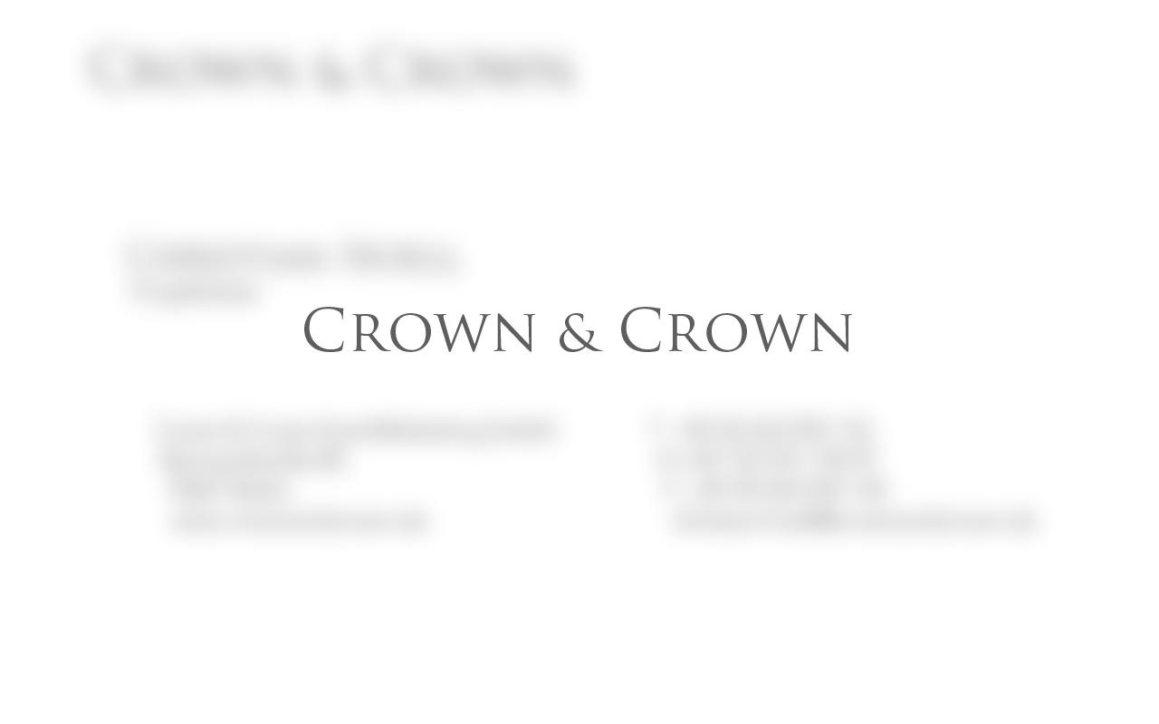 Projekte-Crown&Crown-Visitenkarten