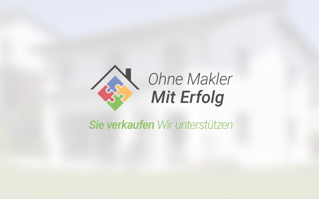Logo und Claim von Ohne Makler - Mit Erfolg